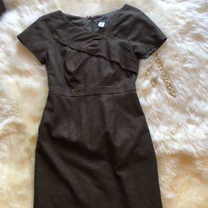 J.Crew dress size 2 brown sleeveless